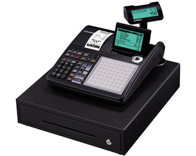 casio SE C450 cash register