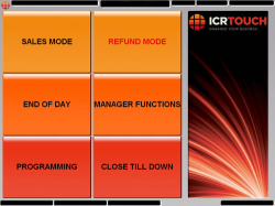ICR Touch Screen Epos Software